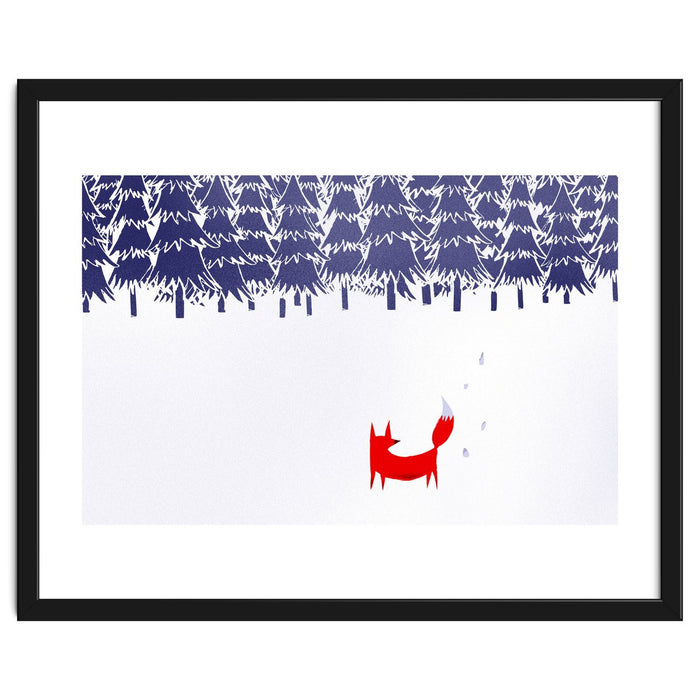Alone In The Forest Art Print