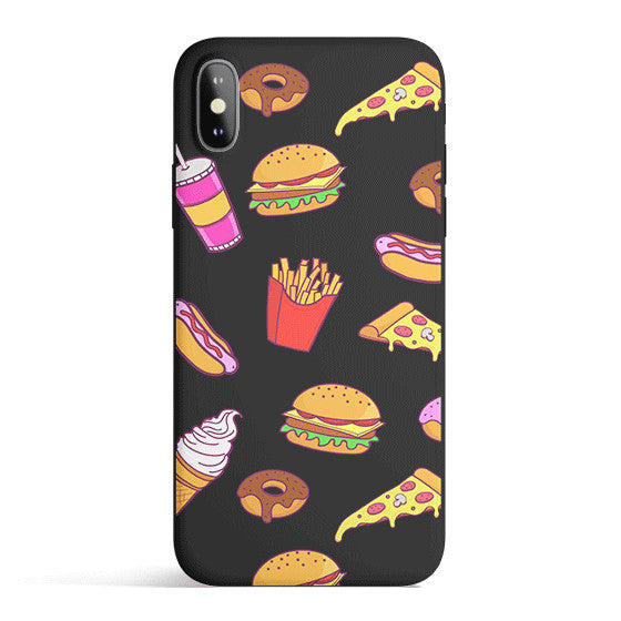 Fast Food - Colored Candy Matte TPU iPhone Case Cover