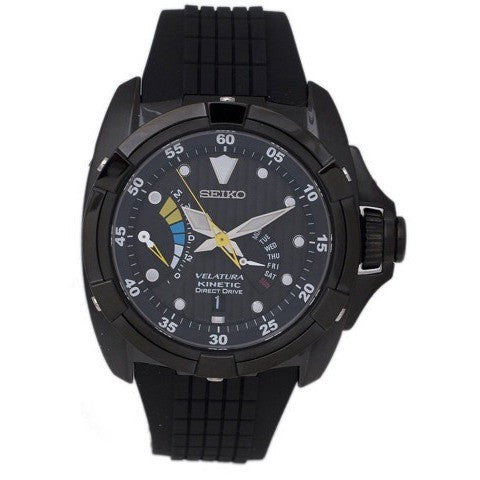 Seiko Men's Velatura Kinetic Direct Drive Watch