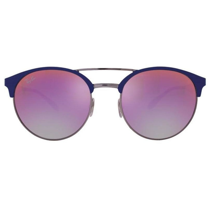 Ray-Ban RB3545/9005A9 Blue,Gunmetal, Violet Lenses Sunglasses
