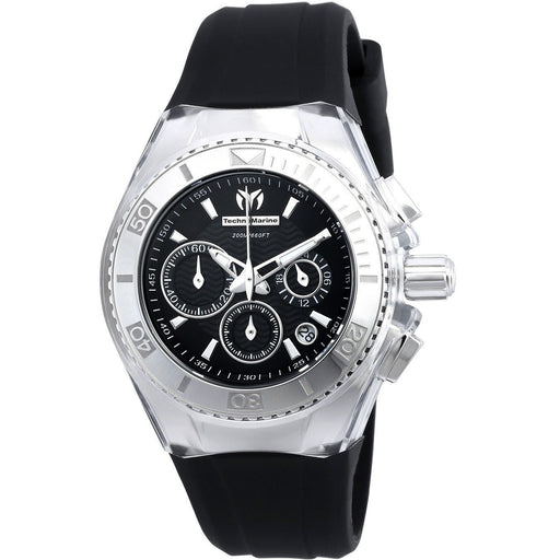 Technomarine Women's Cruise Original Quartz Chronograph Black Dial Watch TM-115039