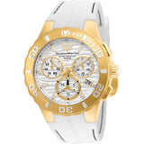 TR Men's TM-115077 Cruise Medusa Quartz White Dial Watch