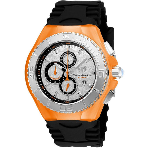 Technomarine Men's Cruise JellyFish Quartz Silver Dial Watch TM-115194