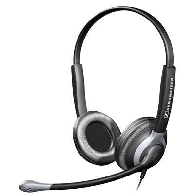 Binaural Headset With Xl Ear Cap