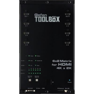 6x2 Matrix For HDMI Black