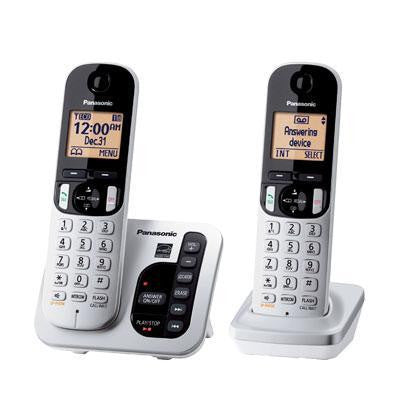 "2 Hs 1.6"" LCD Cordless Phone"
