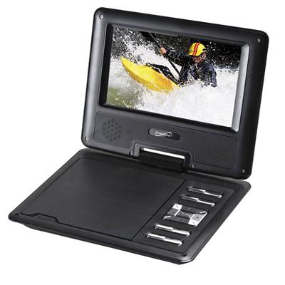 "7"" Portable Dvd With Usb"