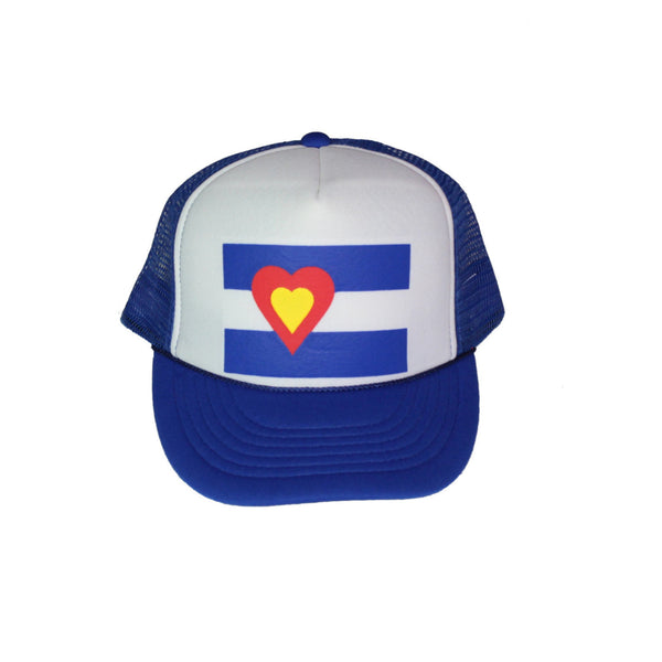 Trucker Hat, Blue