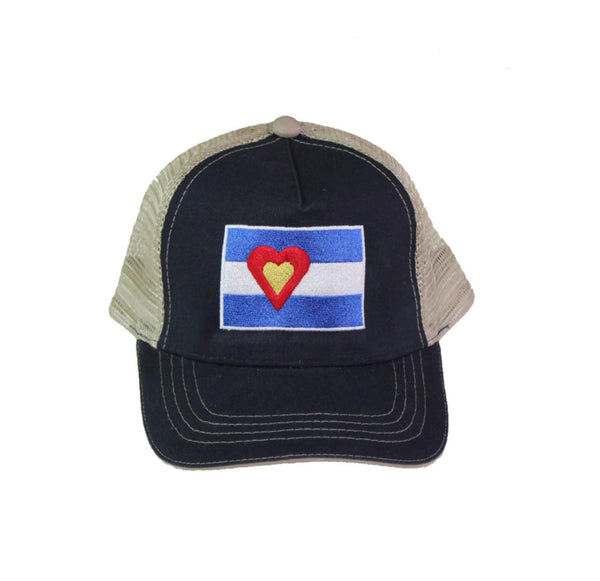 Canvas Hat, Navy