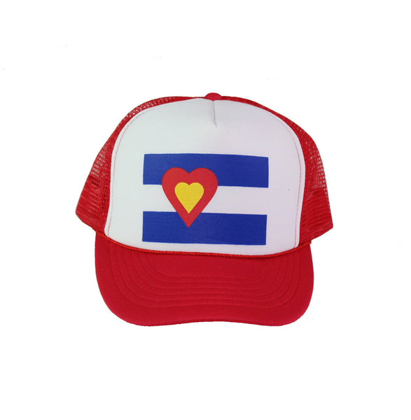 Trucker Hat, Red
