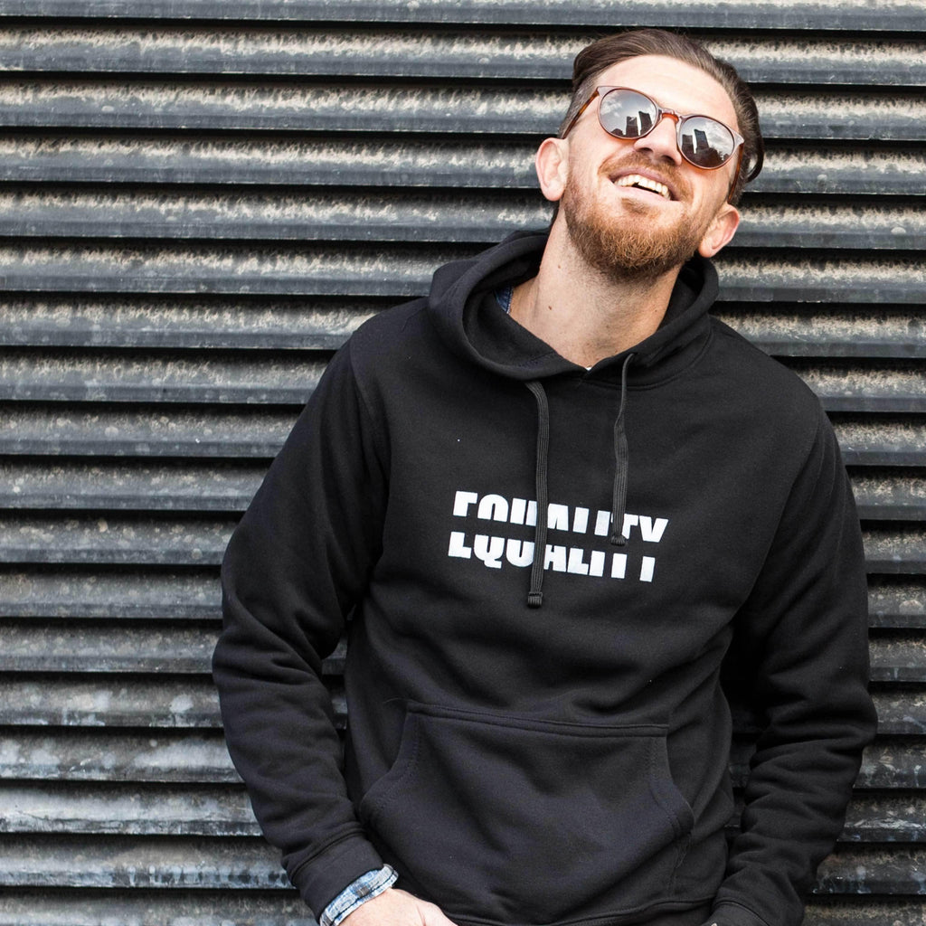 Equality Hooded Sweatshirt - pink is for boys