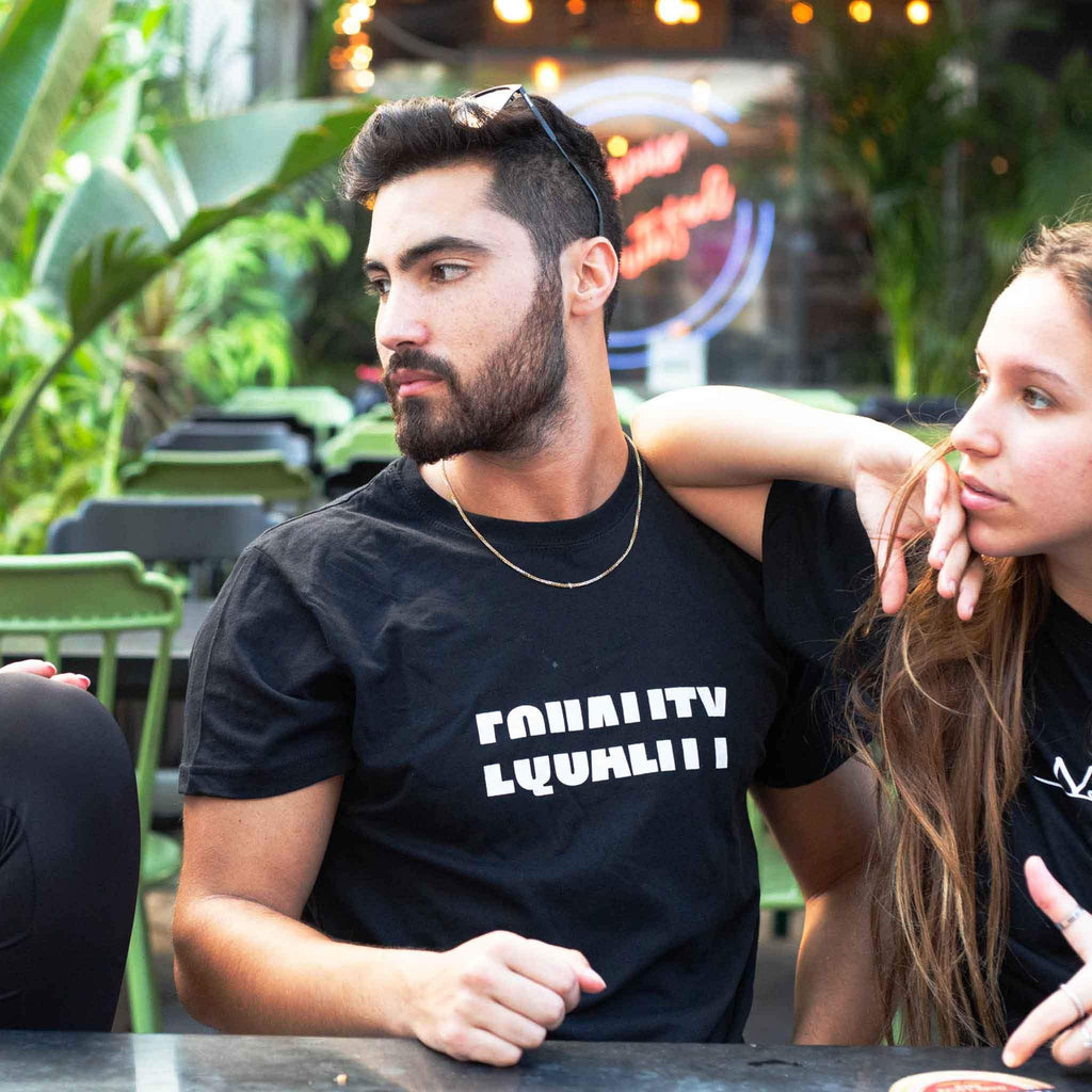 Equality T-shirt - pink is for boys