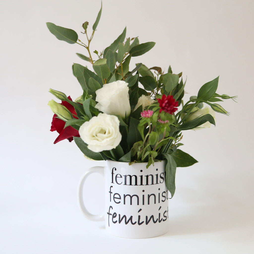 Feminist  Mug - pink is for boys