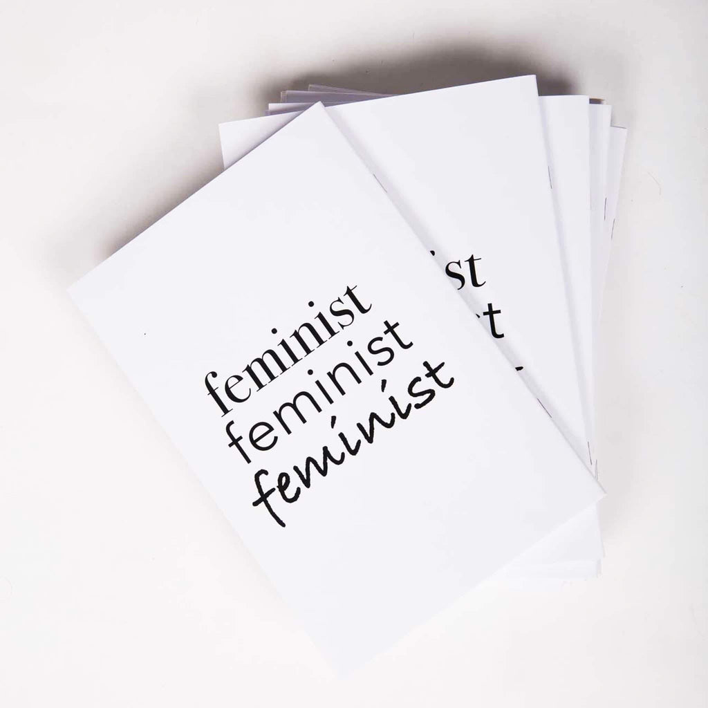 Feminist Notebook - pink is for boys