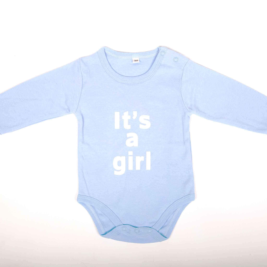 It's a Girl Newborn Onesie - pink is for boys