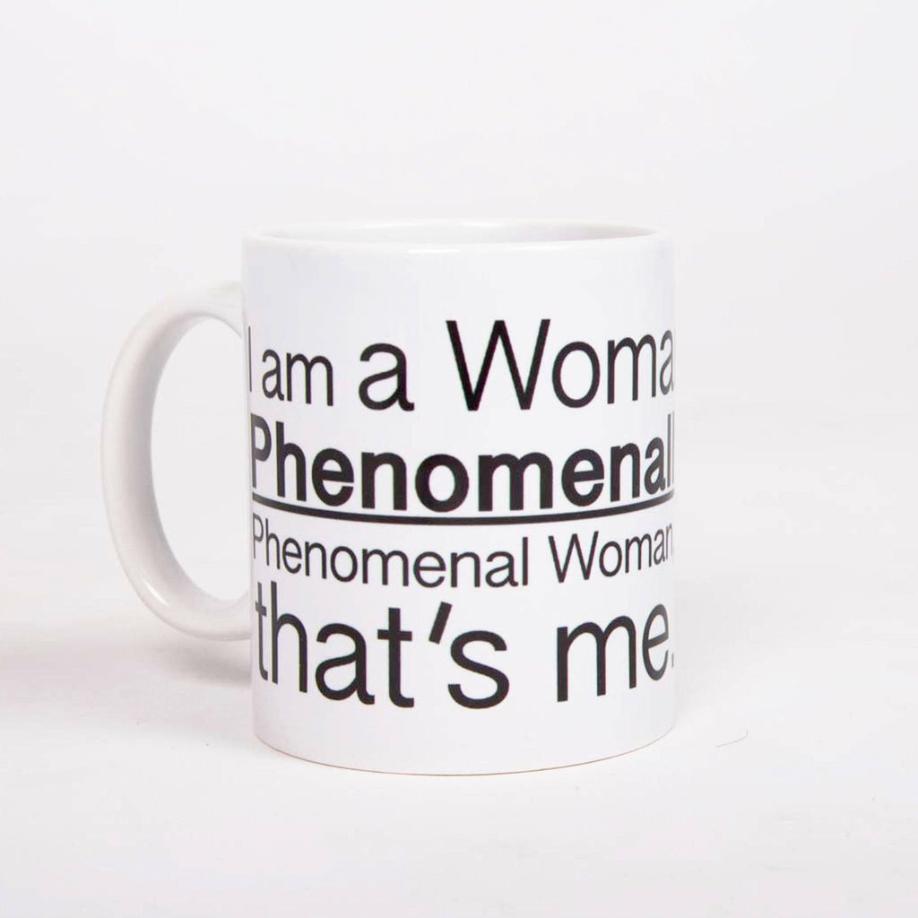 Phenomenal Woman Mug - pink is for boys