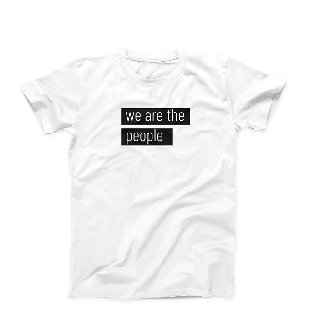 We are the people T-shirt - pink is for boys