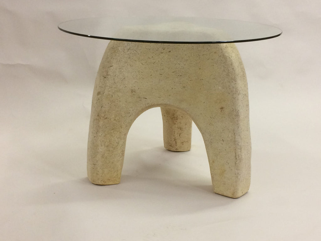 Tom Sippel Carved This Mushroom Mycelium Table