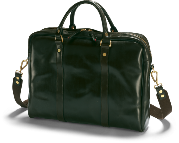 Malton Bridle Leather Laptop Bag