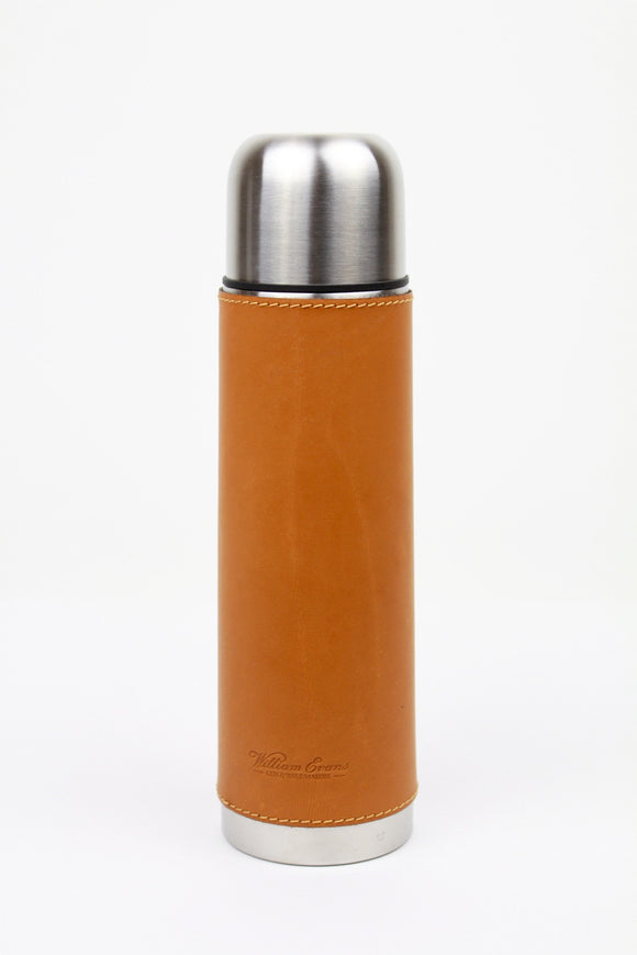 Beier Leather Covered Vacuum Flask