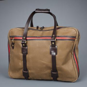 Vintage Canvas Flight Bag