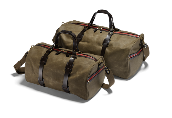 Vintage Canvas Duffle