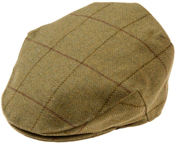 Rutland Mens Tweed Flat Cap