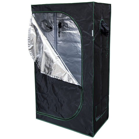 36x20x62 Reflective Mylar Hydroponic Grow Tent for Indoor Plant Growing  sc 1 st  urbanfarmerproducts & 36x20x62 Reflective Mylar Hydroponic Grow Tent for Indoor Plant ...