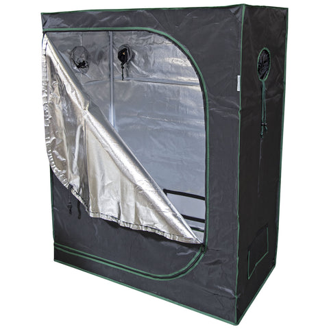 48x24x60 Reflective Mylar Hydroponic Grow Tent for Indoor Plant Growing  sc 1 st  urbanfarmerproducts & 48x24x60 Reflective Mylar Hydroponic Grow Tent for Indoor Plant ...
