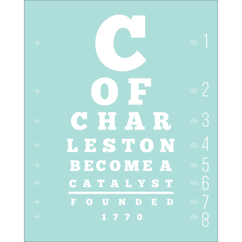 """Become a Catalyst"" Large Lettered GRAPHIC WORD Print"
