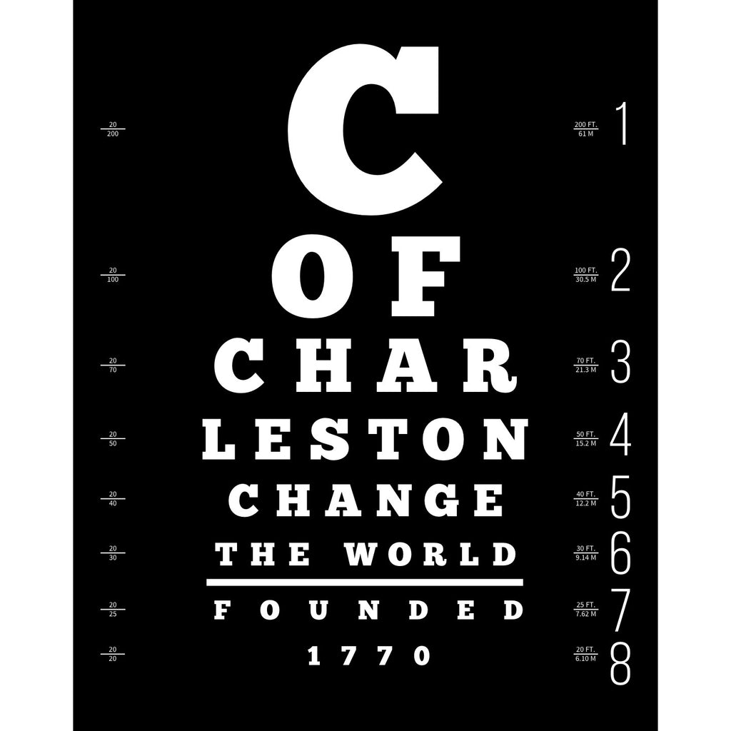 """Change The World"" Large Lettered GRAPHIC WORD Print"