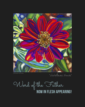 """Christmas Zinnia"" {FREE DOWNLOAD}"