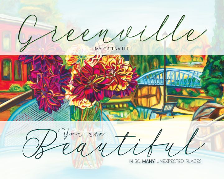 """Greenville You are Beautiful"" 8 x 10 Paper Art Print"