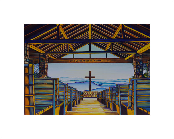 """Pretty Place Chapel"" Large Paper Art Print"