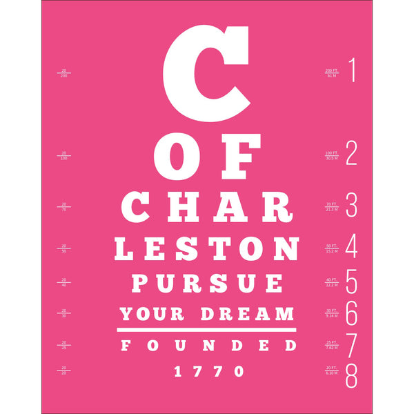 """Pursue Your Dream"" Large Lettered GRAPHIC WORD Print"