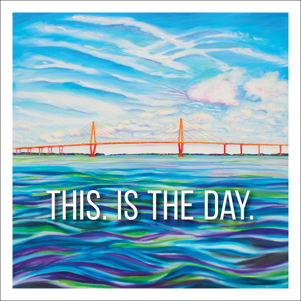 """This is the Day"" 12 x 12 Paper Art Print"