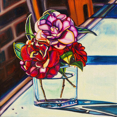 """Timeless"" {FLORAL OIL PAINTING}"