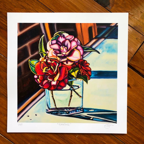 """TIMELESS"" 12"" x 12"" Paper Art Print - LIMITED EDITION!"