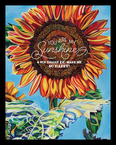 """You Are My Sunshine"" 8 x 10 Paper Art Print"