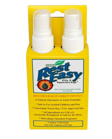 Bed Bug Spray - 2 oz Twin Pack