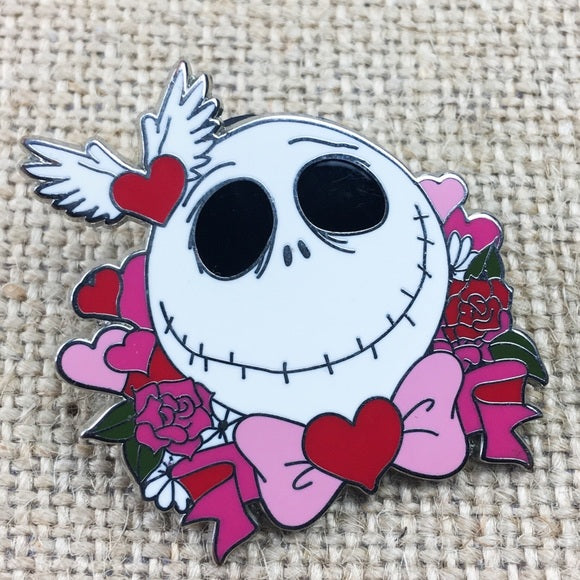 disney jack skellington valentines day s day pin shop the stand alone