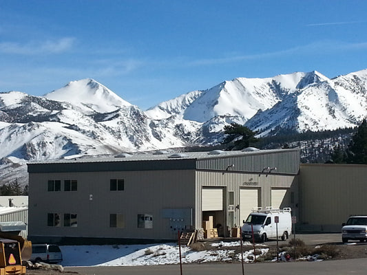 Peak Productions Mammoth California Warehouse