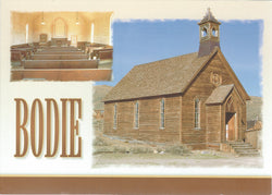 5X7 Bodie Church Postcard
