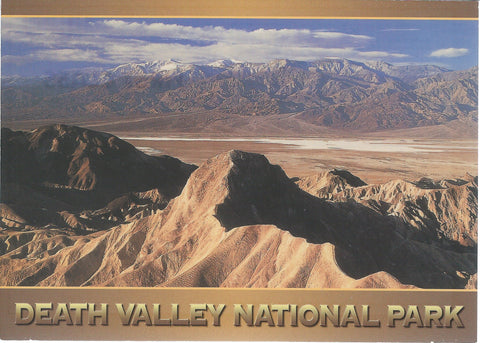 5X7 Death Valley National Park Postcard