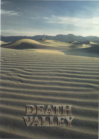 5X7 Death Valley Sand Postcard