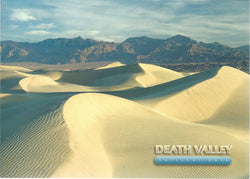 5X7 Death Valley Rolling Sands Postcard