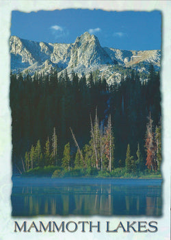5X7 Mammoth Lakes Postcard