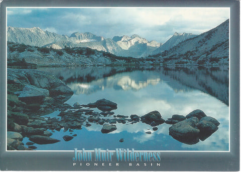 5X7 John Muir Wilderness Postcard