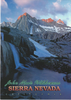 5X7 JMT Sierra Nevada Wilderness Postcard