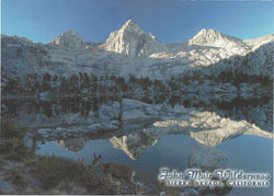 5X7 Sierra Mountain Peak Postcard